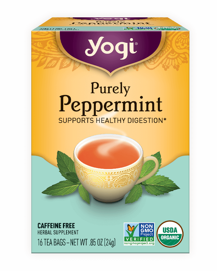 Peppermint Products Purely Peppermint Tea | Yogi Tea