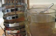 forage rose hips tea
