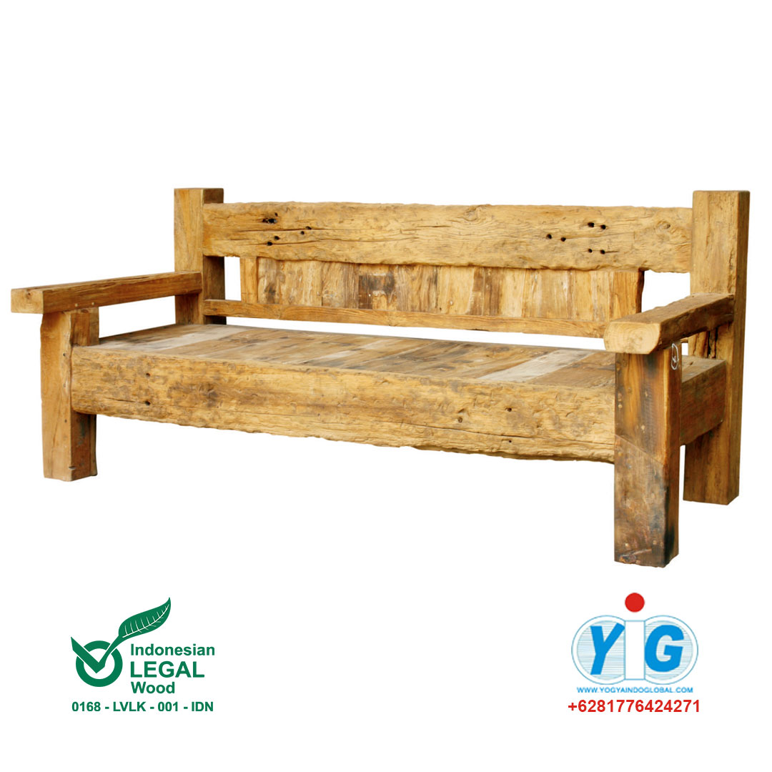 Recycle Furniture Block Bench Recycle Yogya Indo Global Furniture Stores