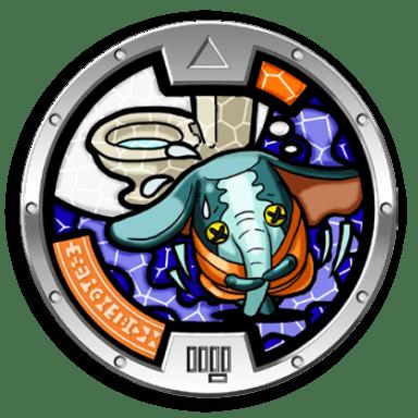 Create Qr Code Create Qr Code Fidgephant Medal Yo Kai Watch Wiki Yokai Watch Fans