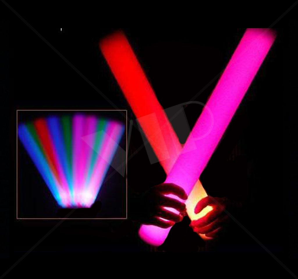 Led Glow Sticks Led Glow Party Promotional Party Sticks 16 Inch Customized