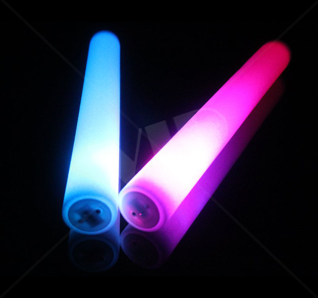 Led Glow Sticks Led Foam Stick Flashing Party Sticks 16 In Not Customized