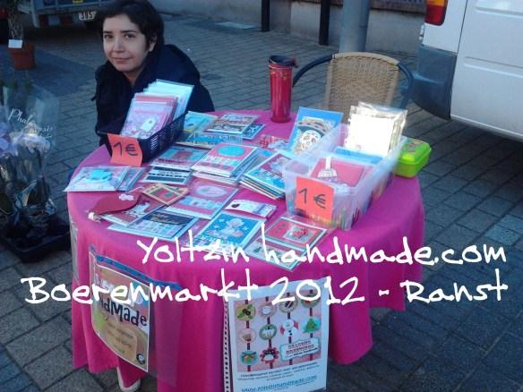 Yoltzin Handmade - Boerenmarkt 2012 - Belgium