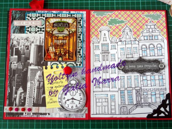 Mi vida en scrap - Junk journal - yoltzin handmade