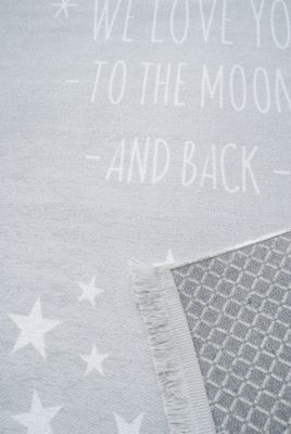 Happy Rugs Teppiche Kinderteppich Love You Moon In Outdoor Silber Happy