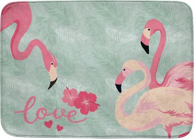 Kinderteppich Mint Kinderteppich Ultrasoft Flamingo Mint 100 X 150 Cm Grün