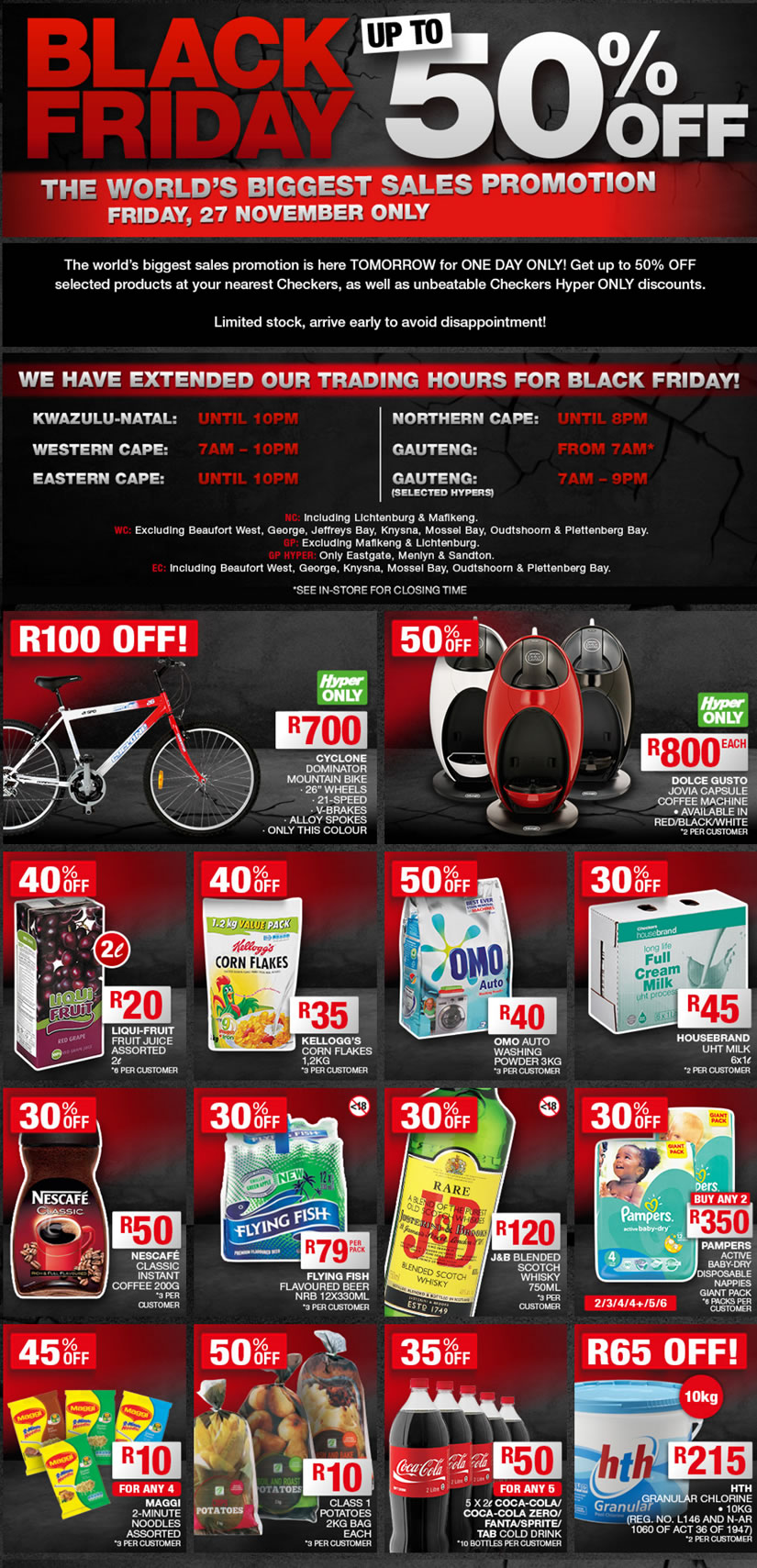 Black Friday Specials List Of Black Friday Hot Deals Yomzansi