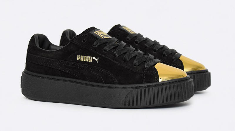 Puma Suede Gold Toe