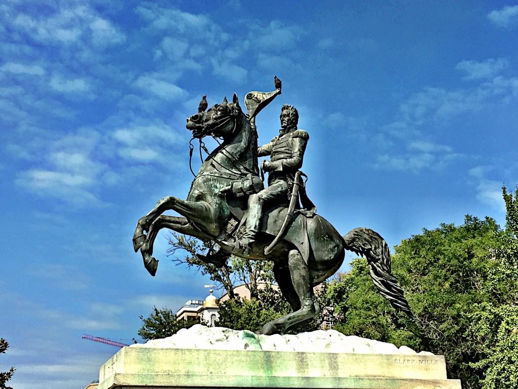 Statue of General Andrew Jackson, Photo: Andrej Mrevlje