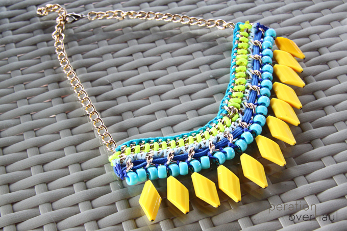 DIY: Zara Inspired Statement Necklace – Operation Overhaul