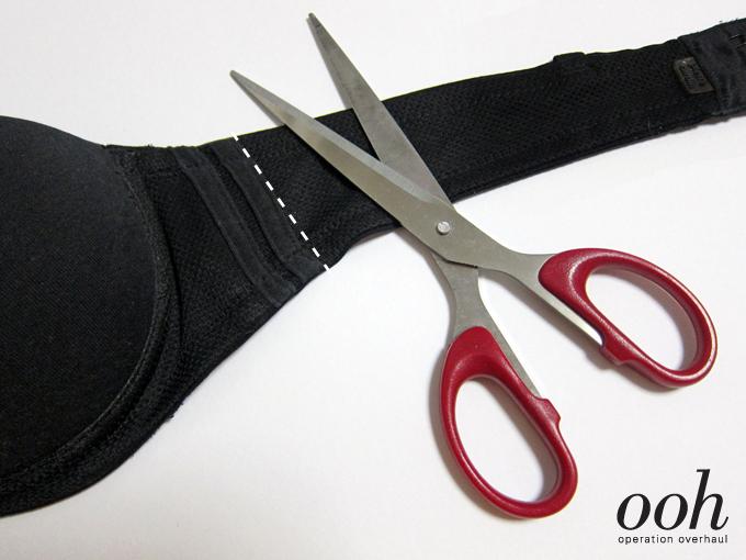 2 Operation Overhaul - Elastic Strappy Bra Cut Strap