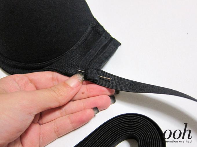 3 Operation Overhaul - Elastic Strappy Bra Pin Elastic