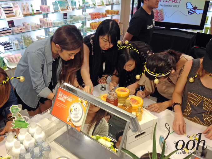 Operation Overhaul for The Body Shop - Bloggers at work 2