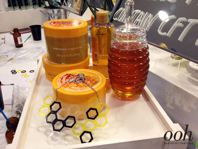 Operation Overhaul for The Body Shop - HoneyMania Range with DIY Necklace