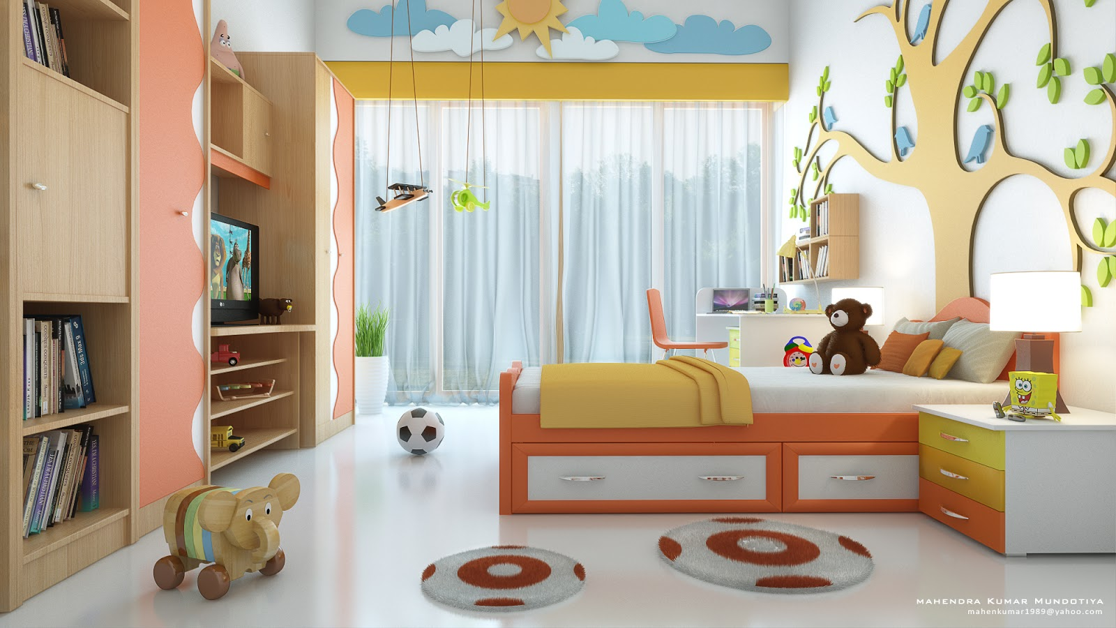 Ideas For Childrens Rooms Setting Up And Customizing Kids Room Yonohomedesign