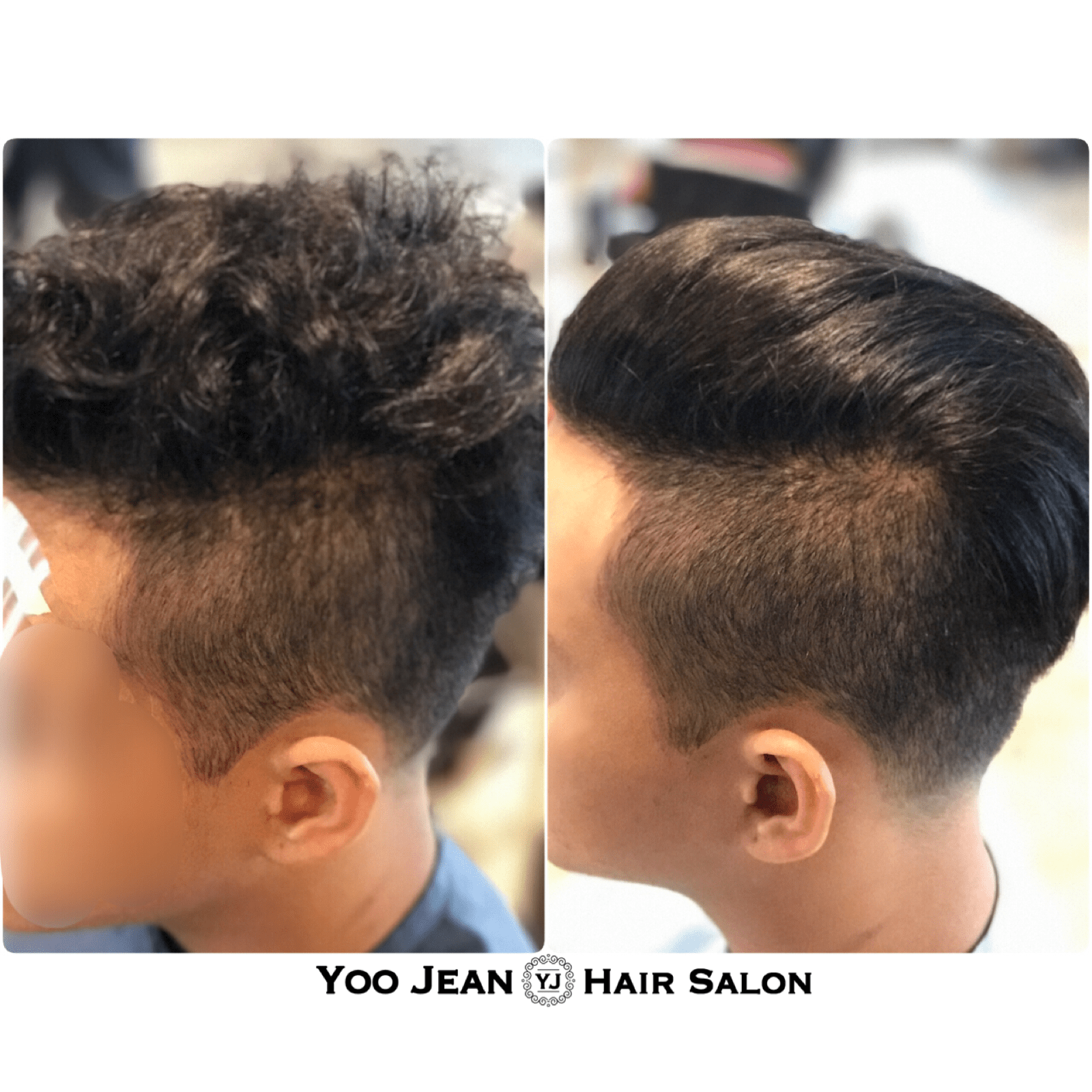 Hair Salon 1 Volume Rebonding For Man Yoo Jean 39s Hair Salon Korean