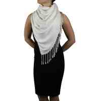 Cream Pashmina Scarf Shawl Wrap  York Shawls
