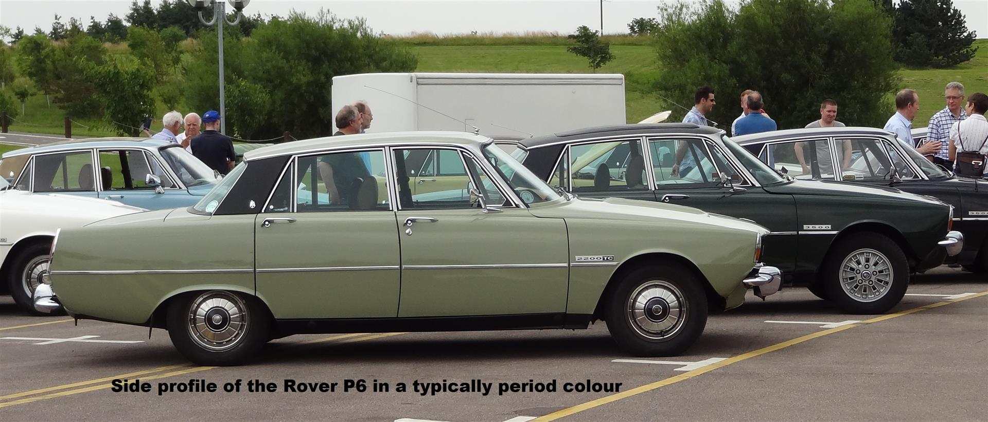 Rover P6 Furry Dice The Rover P6 Yorkshire Bears