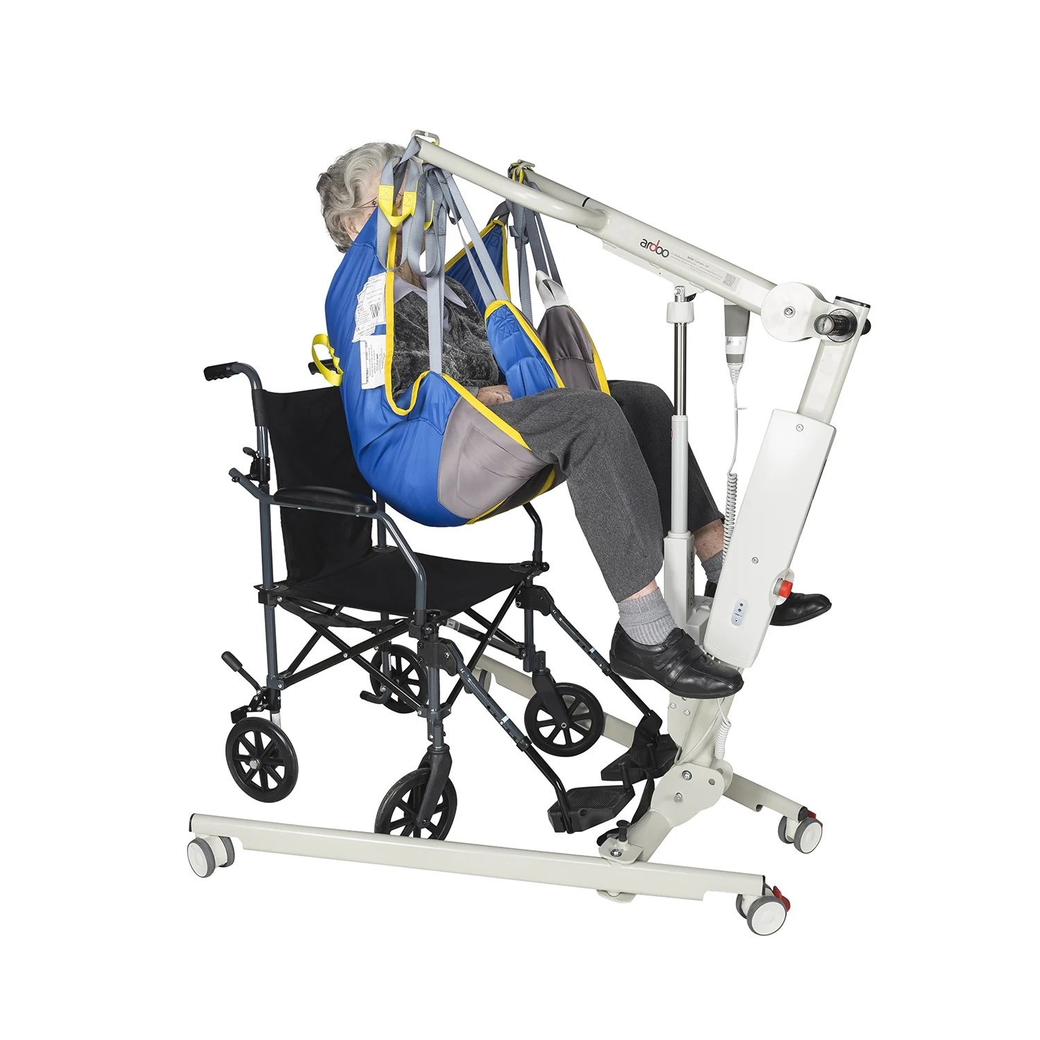 Commodes Solver Ardoo 140 Folding Hoist Yorkshire Care Equipment