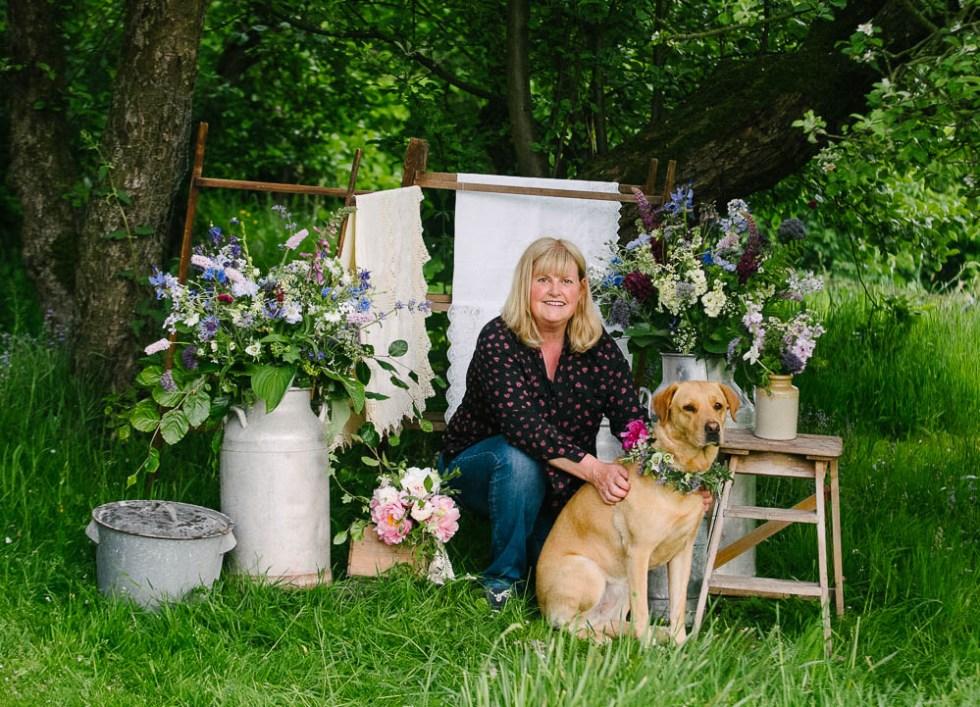 skipton florist growing british flowers