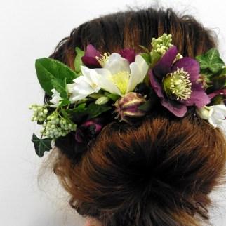Hellebore Flower Combe