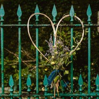 Willow biodegradeable heart.