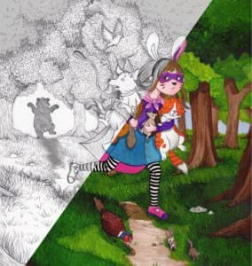 Win a custom illustration of your child's dreams with Room to Grow