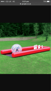 Manchester Carnival Zorb Pool