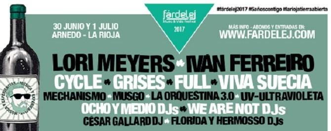 EL FÁRDELEJ FESTIVAL PRESENTA EL CARTEL COMPLETO DE SU QUINTA EDICIÓN