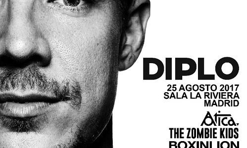 """DIPLO, """"El tótem de la electrónica"""", este viernes en Madrid en La Riviera."""