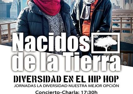Concierto-charla del grupo de hip-hop Nacidos de la Tierra en Basauri