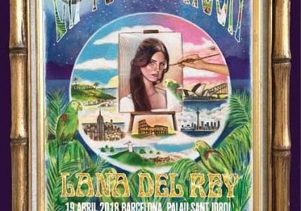LANA DEL REY actuará en Madrid y Barcelona.