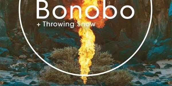 Throwing Snow, telonero de Bonobo el 13 de noviembre en Madrid.