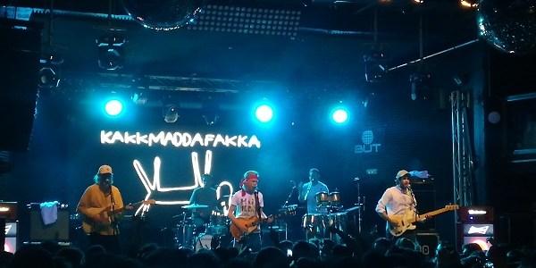 Reseña del concierto de Kakkmaddafakka en Madrid.