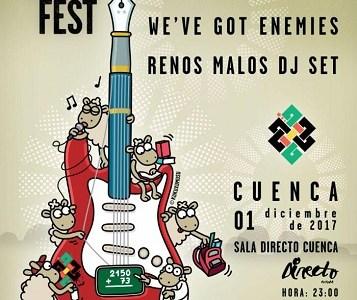 El 1 de diciembre llega Música Por Siria Fest a Cuenca