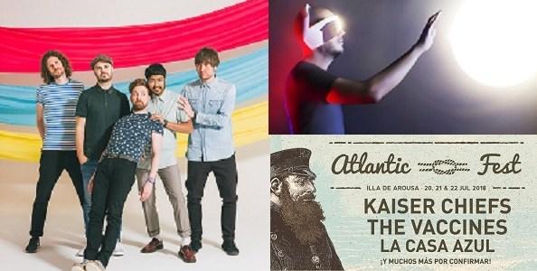 ATLANTIC FEST confirma a KAISER CHIEFS y LA CASA AZUL.