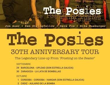 THE POSIES 30th Anniversary Tour en septiembre y octubre.