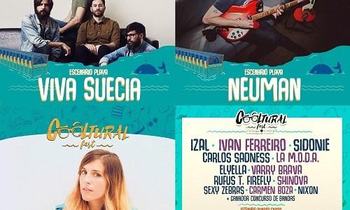 COOLTURAL Fest sorprende confirmando a Viva Suecia, Neuman y Mirela Vilar.