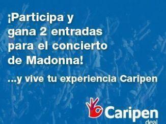 caripen entradas para ver a Madonna