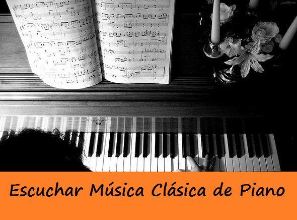Escuchar MÚSICA Clasica de PIANO ¡¡Radio Online!!