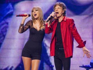 Taylor Swift y Mick Jagger juntos en Concierto