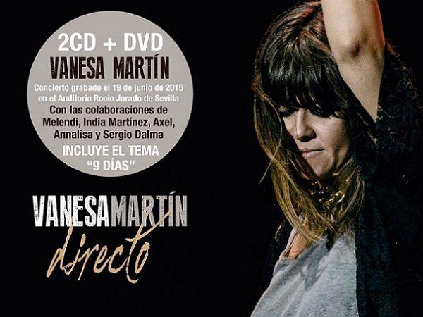 Vanesa Martín y su disco, Directo