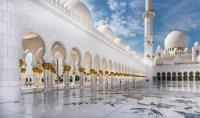 Sheikh Zayed Grand Mosque is located in Abu Dhabi, United Arab Emirates