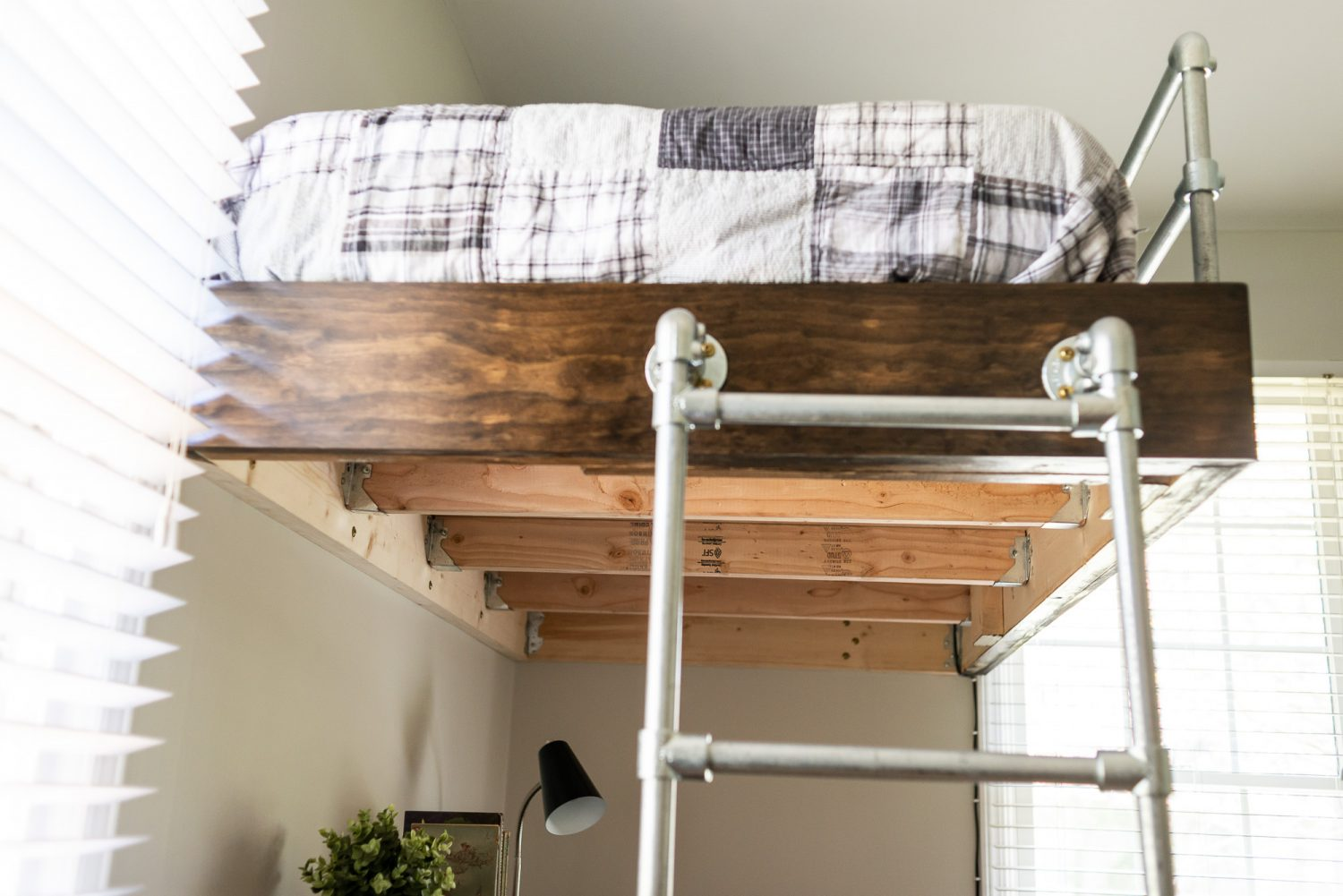 Bed Loft Diy Loft Bed For Boy 39s Room Strong And Simple To Build
