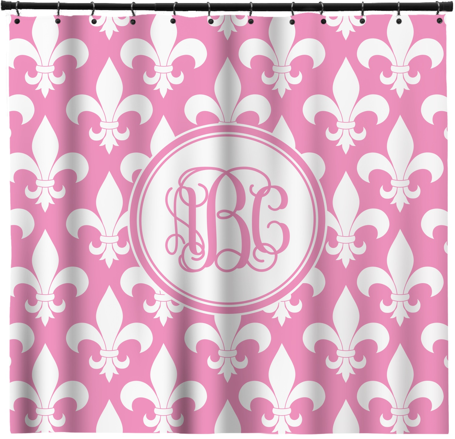 Fleur Di Lis Bathroom Fleur De Lis Shower Curtain Custom Width And Height