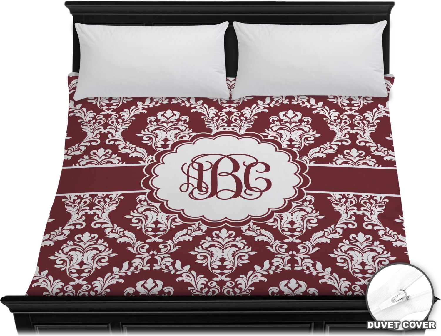 White Duvet Cover King Maroon And White Duvet Cover King Personalized