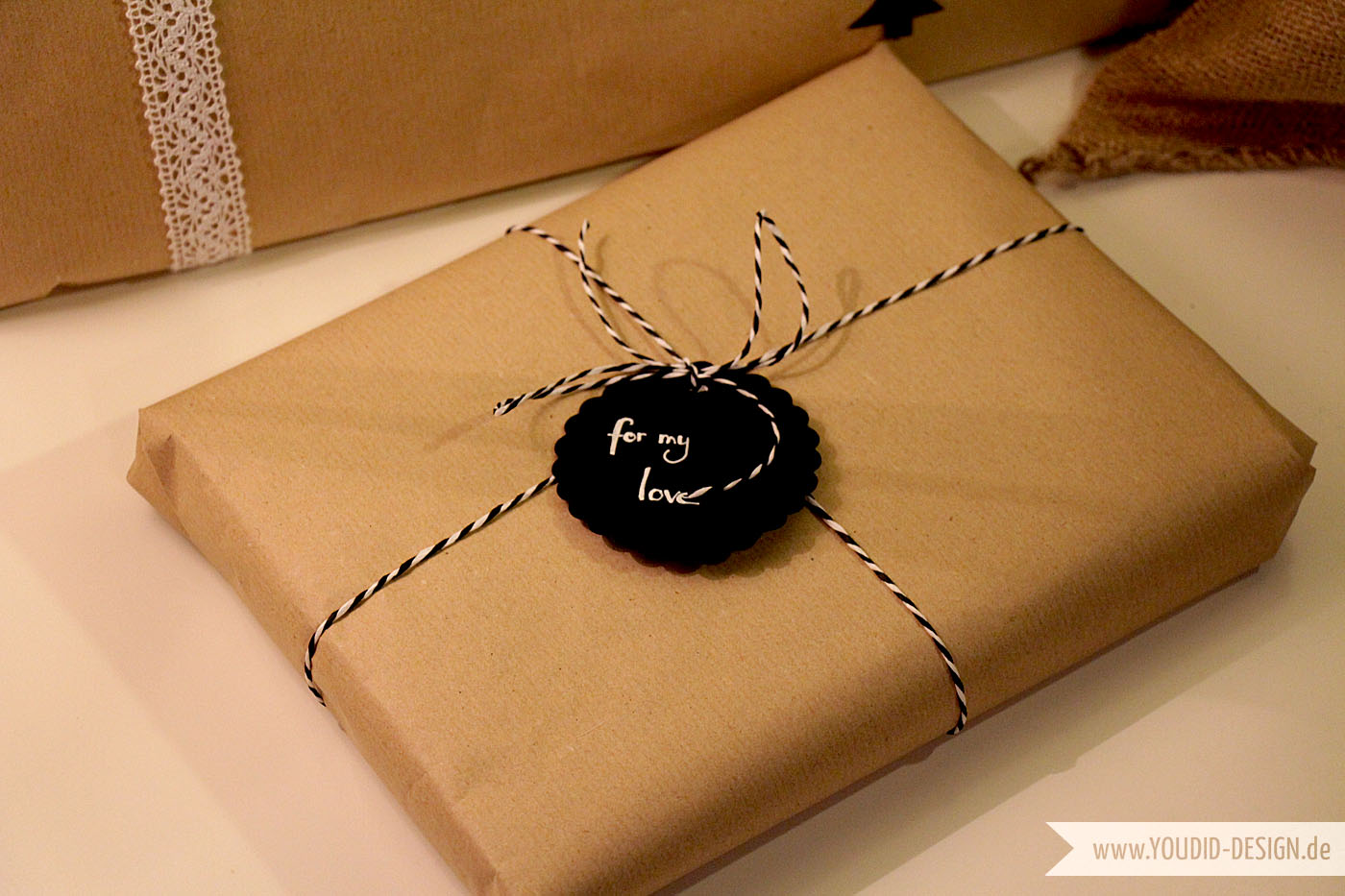 Moderne Geschenke 7 Gift Wrapping Ideas With Kraft Paper - Youdid Design