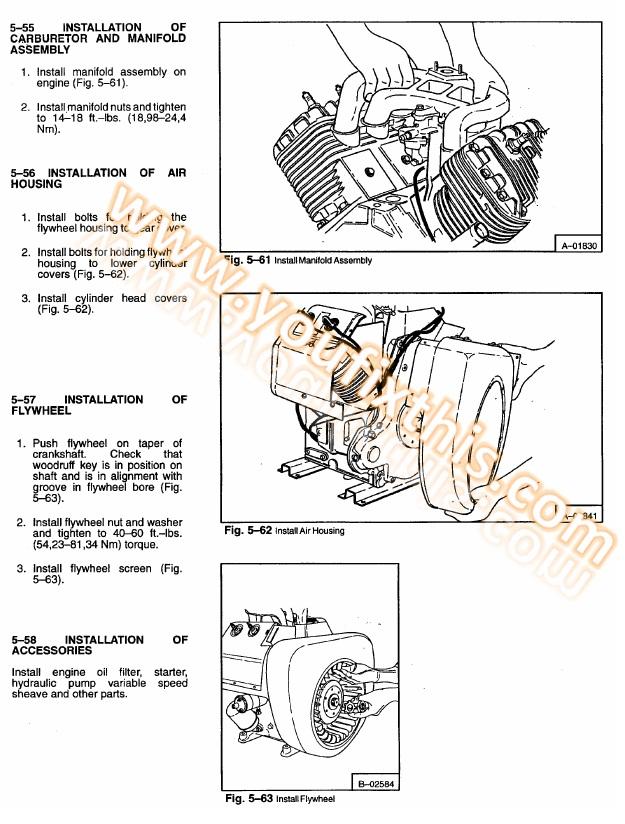 732 bobcat lift cylinder schematic