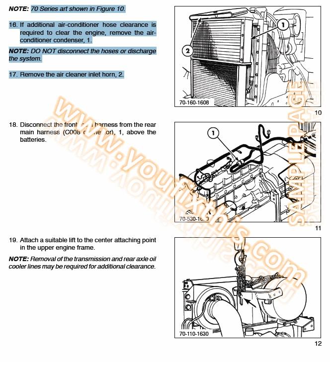New Holland LB75B LB90 LB110 LB115B Repair Manual Tractor Loader