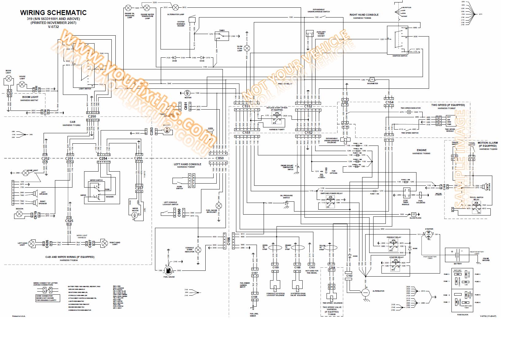 Sensational Bobcat 864 Schematic Basic Electronics Wiring Diagram Wiring 101 Akebretraxxcnl